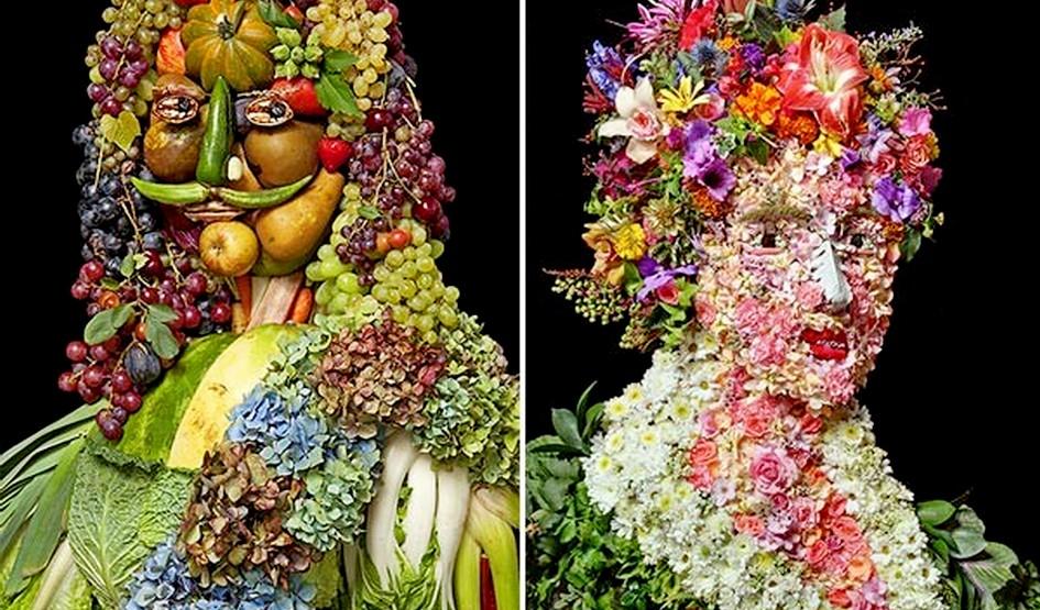 """გემრიელი პალიტრა -""""ბუნების ნობათით"""" შესრულებული მხატვრობა"""