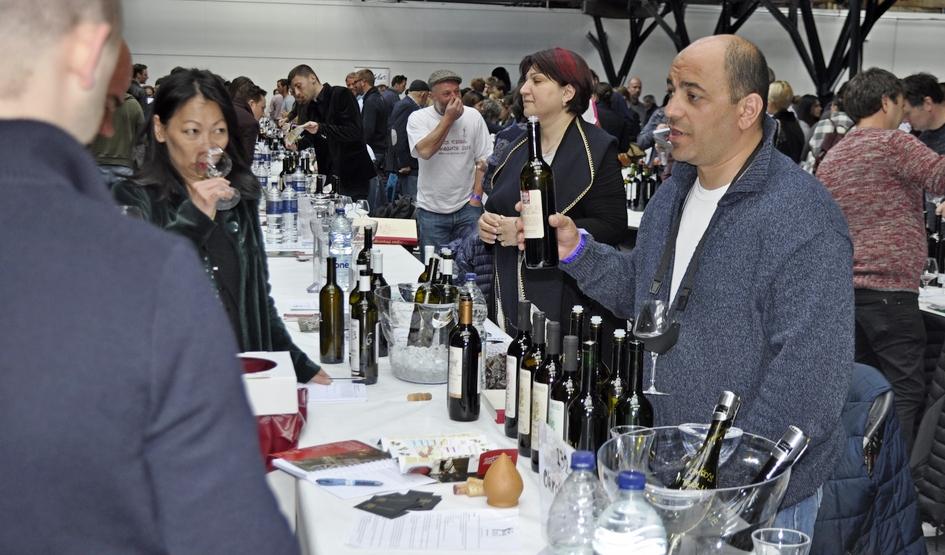 """ქართული ღვინო და სამზარეულო ლონდონის  საერთაშორისო გამოფენაზე  """"Real Wine Fair"""""""